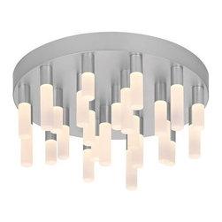 Sonneman - Sonneman | Staccato 24-Light LED Flush Mount - Design by Robert Sonneman.