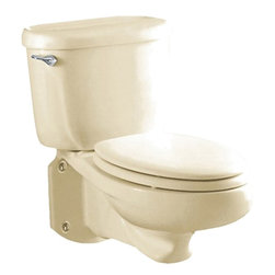 American Standard - American Standard 3402.016.222 Glenwall Elongated Bowl,  Linen - American Standard 3402.016.222 Glenwall Elongated Bowl,  Linen. This elongated bowl is designed for use with the 2093.100 Model Glenwall Pressure Assisted Wall-Mounted Toilet.