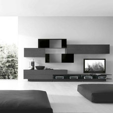 Modern Media Storage by Casa Spazio