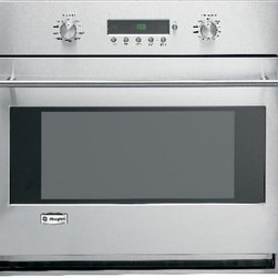 "GE Monogram 30-Inch Built-In Convection Wall Oven - This 30"" Built-In Electronic Convection Wall Oven, ZET1SMSS, from GE Monogram has a large 4.4 cu. ft. capacity that can fit even the largest meals.  The oven also has fully extendable oven racks that can stay inside the oven during the self-clean cycle."