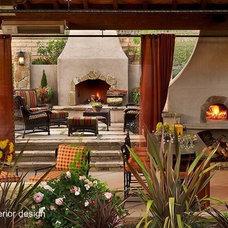 Eclectic Exterior by MKandcompany Interior Design & Decoration