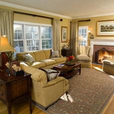 Traditional Living Room by Lisa Davenport Designs