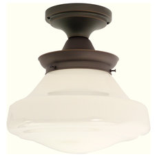 Traditional Flush-mount Ceiling Lighting by Schoolhouse Electric