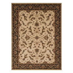 Loloi Rugs - Loloi Rugs Stanley Collection Rug, Beige/Charcoal - The magnificent Stanley Collection features modern interpretations of the most sophisticated hand knotted designs. Recreated in Egypt with power loomed technology these gorgeous polypropylene area rugs offer an affordable alternative.