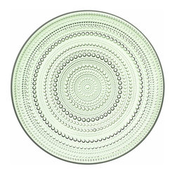 Kastehelmi Large Plate Apple Green