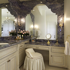 eclectic bathroom by Ernesto Garcia Interior Design, LLC