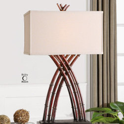 "Uttermost 27688 Namtu Lamps - Get 10% discount on your first order. Coupon code: ""houzz"". Order today."