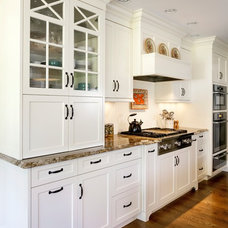 Traditional Kitchen Cabinetry by Platt Builders