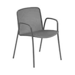 Volta Metal Arm Chair By Emuamericas