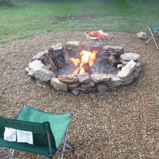 Firepits Natural Stone Fire Pit