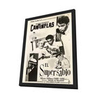 Supersabio, El 11 x 17 Movie Poster - Mexican Style A - in Deluxe Wood Frame - Supersabio, El 11 x 17 Movie Poster - Mexican Style A - in Deluxe Wood Frame.  Amazing movie poster, comes ready to hang, 11 x 17 inches poster size, and 13 x 19 inches in total size framed. Cast: Aurora Walker
