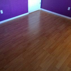 Laminate Flooring, Bedroom -