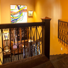 Eclectic Staircase by RUDA Photography