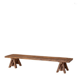 Eichholtz Oroa - Coffee Table Bayonne, Reclaimed Oak - Reclaimed oak