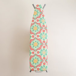 Mosaic Ironing Board Cover - Even I might get excited to do some ironing with such a fun ironing board cover. Well, on second thought, nope. Nothing can get me excited to iron, but this wouldn't hurt.
