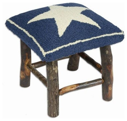 Traditional Footstools And Ottomans by americancountryhomestore.com