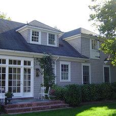 Traditional Exterior by Elizabeth Hagins Interior Design