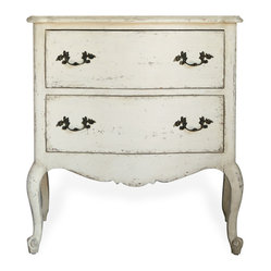 Clementine French Country 2-Drawer Nightstand