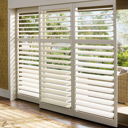 Hunter Douglas Palm Beach™ Polysatin Shutters - Hunter Douglas Palm Beach™ Polysatin Shutters