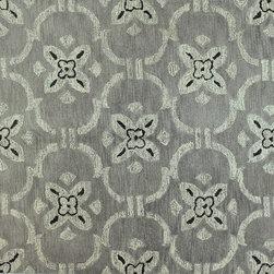 """Venezia - Strings 8'6"""" X 11'6"""" 100% wool pile area rug in platinum - Venezia Collection - Strings 8'6"""" X 11'6"""" 100% wool pile area rug in platinum"""