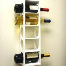 Rutherford Wine Rack White