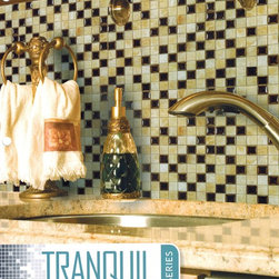 Tranquil glass tile mosaic by Nova - Tranquil the new glass tile series by Nova.