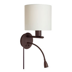 Wall Mounted Gooseneck Reading Lamps : Houzz.com: Online Shopping for Furniture, Decor and Home Improvement