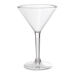 Franmara - 8 Ounce Clear Acrylic Finish Martini Glass with Thick Lip Design - This gorgeous 8 Ounce Clear Acrylic Finish Martini Glass with Thick Lip Design has the finest details and highest quality you will find anywhere! 8 Ounce Clear Acrylic Finish Martini Glass with Thick Lip Design is truly remarkable.