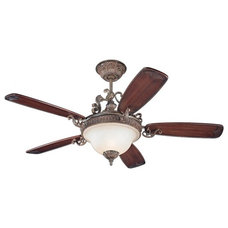 Mediterranean Ceiling Fans by Lighting and Locks