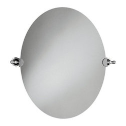 "KOHLER - KOHLER K-16145-CP Revival Mirror in Polished Chrome - KOHLER K-16145-CP Revival Mirror in Polished ChromeBlending European style and early American influences, Revival accessories bring elegant continuity, completing your room design down to the important details. The oval mirror harmonizes perfectly with the Revival Suite of products. Solid brass construction ensures durability and reliability.KOHLER K-16145-CP Revival Mirror in Polished Chrome, Features:• 26-1/8""W x 3-3/4""D x 28-1/2""H"