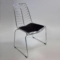 Wire Leaf Chair -