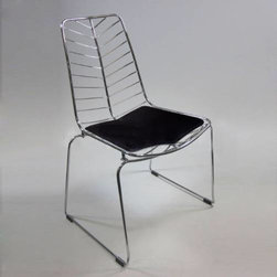 Wire Leaf Chair -