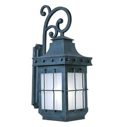 Maxim Lighting - Maxim Lighting 85085FSCF Country Forge Nantucket 1 Light Outdoor Wall Sconce - Product