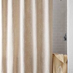 """""""French Perle"""" Shower Curtain -"""