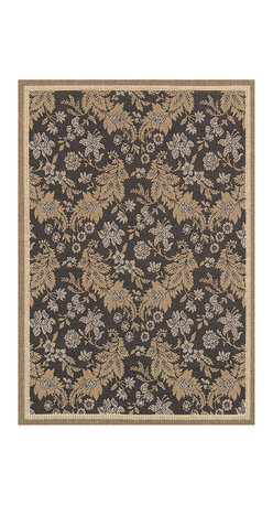 """Couristan - Monaco Palermo Rug 2481/1812 - 2'3"""" x 11'9"""" - Perfect for an outdoor patio, deck or sunroom, the Monaco Collection is designed to convert your space to the perfect at-home escape. Pair one of these performance area rugs with your outdoor furniture to enhance any look. The subtle designs and neutral hues found in Monaco are sure to bring a relaxed ambiance to any room or space of your liking."""