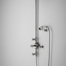 Traditional Bathroom Faucets And Showerheads by Rebekah Zaveloff | KitchenLab