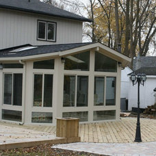 Traditional Greenhouses by Craft-Bilt Materials Ltd. - Sunrooms