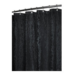 Park B. Smith - Park B Smith Crinkle Chintz Shower Curtain - CRCH40-BLK - Shop for Shower Curtains from Hayneedle.com! Spice up your bathroom with the Park B Smith Crinkle Chintz Shower Curtain available in a variety of shades. The textured crinkle design may look delicate but this shower curtain is anything but. Made of 100% polyester and machine-washable it s made to stand up to even the busiest of lifestyles.