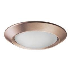 "Juno Lighting - Juno 4401 4"" Beveled Dome Lensed Trim, 4401-Abz - 4"" Beveled Dome Lensed Trim for use with select Juno housings"