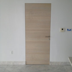 Invisible Doors, By DAYORIS DOORS. - These are flush, invisible doors, made by DAYORIS DOORS.