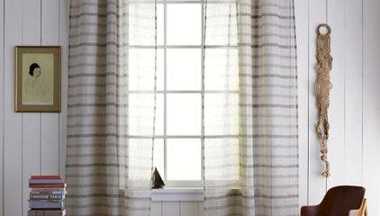Thompson Woven Window Panel | west elm