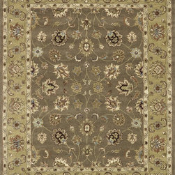 Loloi Rugs - Loloi Rugs Maple Collection - Mocha / LT. Gold, 8' x 11' - Transform your home into a manor steeped in elegance and tradition with the majestic Maple Collection. These timeless Persian designs carry the rich heritage of centuries of carpet making in each arabesque, stylized flower and intricate border. Maple Collection rugs are hand-tufted in India of 100-percent wool so they are eco-friendly and mindfully crafted with sustainable materials. With colors as rich as these, you will feel like nobility every time you walk into your home.