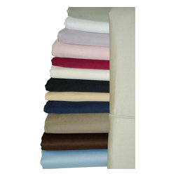"""Bed Linens - 1000 TC Solid Pair Pillow cases, 100% Egyptian cotton, Queen/Standard, Linen - 1000 Thread count *100% Egyptian cotton, Sateen Weave. *4"""" Hemming with Piping *"""