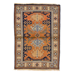 eSaleRugs - 4' 7 x 5' 11 Ardabil Persian Rug - SKU: 22161968 - Hand Knotted Ardabil rug. Made of 100% Wool. Brand New.