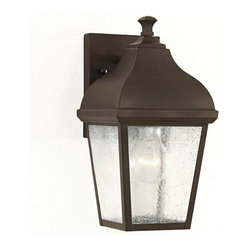 Murray Feiss - 1 Bulb Oil Rubbed Bronze Outdoor - - UL Approved.