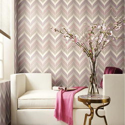 Candice Olson Wallcovering - Candice Olson Modern Luxe - York Wallcovering - Gatsby
