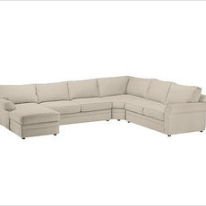 traditional sectional sofas by Pottery Barn
