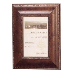 "Home Decorators Collection - Bennett Mahogany Picture Frame - Frame your favorite pictures in our classic mahogany burl picture frame. This frame will complement traditional or casual interior styles with its distressed look and beveled edges. Created for vertical or horizontal display. Sit tabletop or hang on the wall. Small holds a 4"" x 6"" picture; medium holds a 5"" x 7"" picture; large holds a 8"" x 10"" picture."
