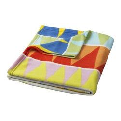 Sirpa Cowell - VITAMINER VIMPEL Blanket - Blanket, multicolor
