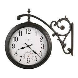 Howard Miller - Howard Miller Double Sided Weather & Maritime Indoor-Outdoor Clock | LUIS - 625358 Luis